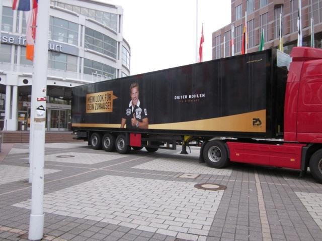Camión Publicitario de la firma Ps Internacional