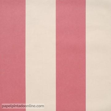 papel pintado coordonné rayas