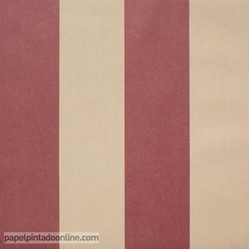 papel pintado rayas coordonné