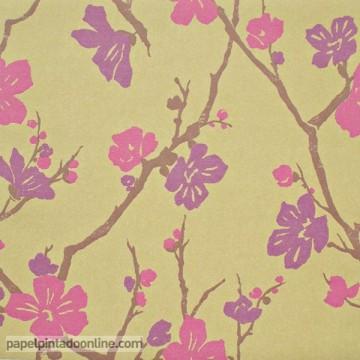 papel pintado coordonné moss